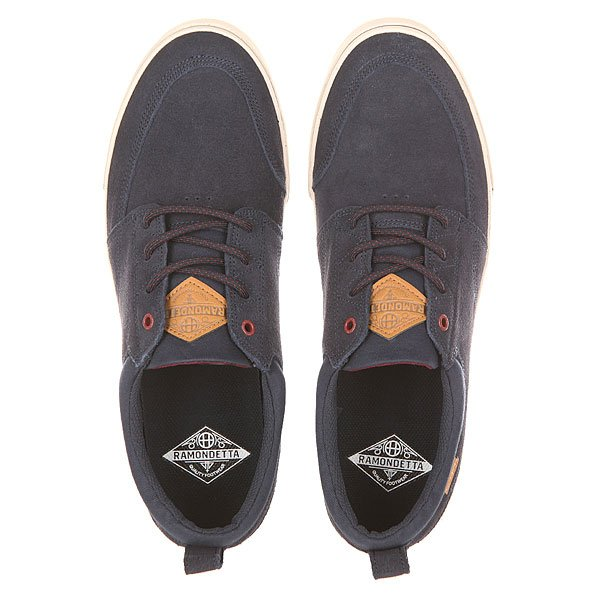 Кеды низкие Huf Ramondetta Navy/Wine