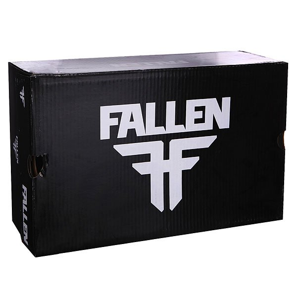 Кеды низкие Fallen Spirit Black/White/Texas