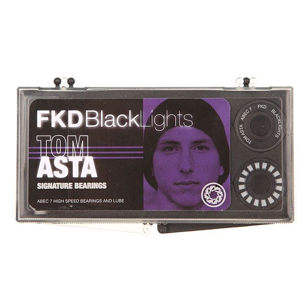 Подшипники FKD Black Lights ABEC 7 Tom Asta