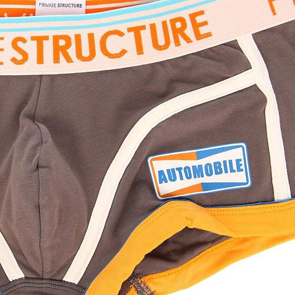 Трусы Private Structure 110-mu-0756 Grey