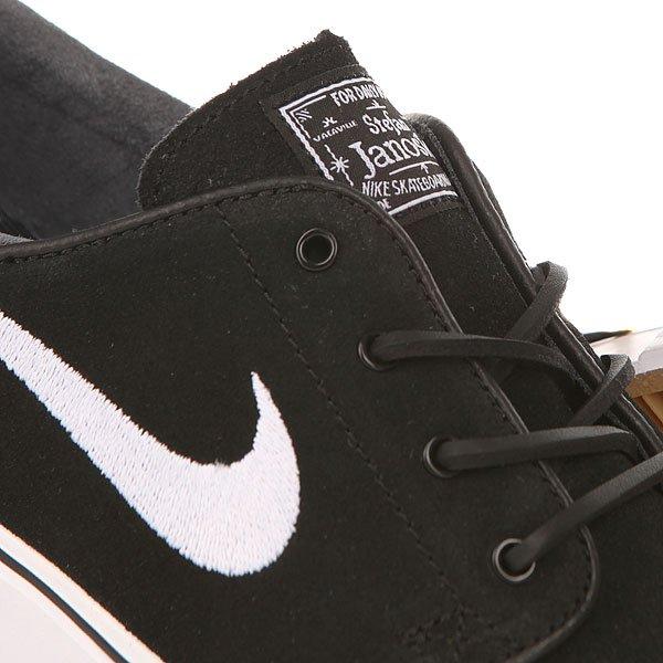 Кеды низкие Nike Zoom Stefan Janoski Og Black/White-Gum/Light Brown