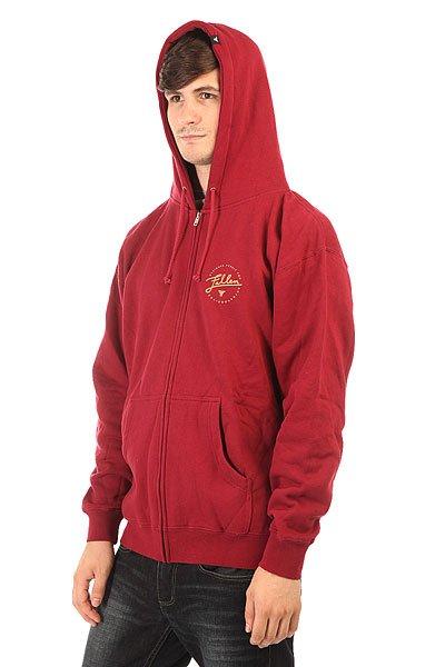 Толстовка классическая Fallen Pure Zip Hoods Cordovan