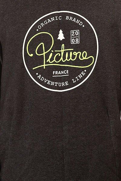 Толстовка свитшот Picture Organic Velvet Black