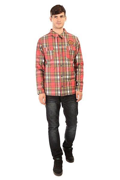 Рубашка утепленная Picture Organic Ridingo Shirt Red Plaid