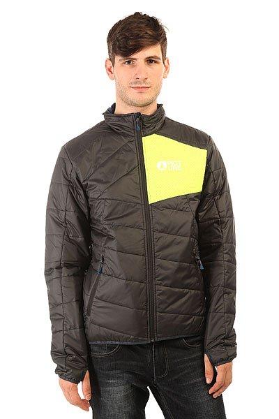 Куртка Picture Organic Atlas Black/Fluo Yellow