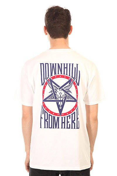 Футболка Huf Down From Here Tee White