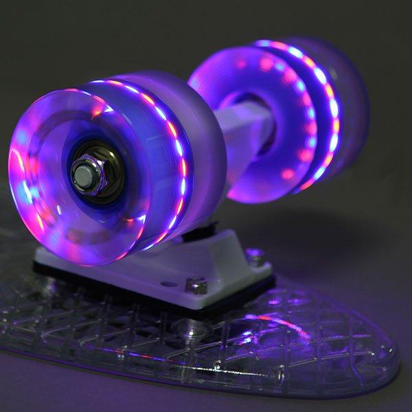 Скейт мини круизер Turbo-FB Cruiser Transparent Clear 5.75 x 22 (55.9 см)