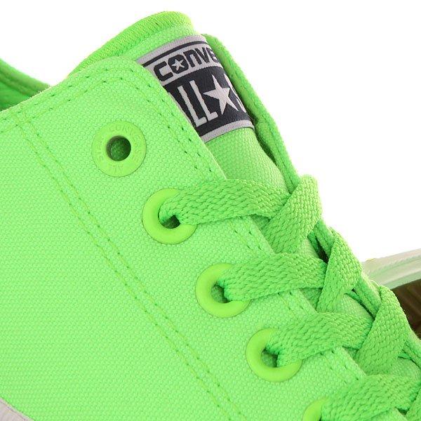 Кеды низкие Converse Chuck Taylor All Star Ii Ox Green An Gecko