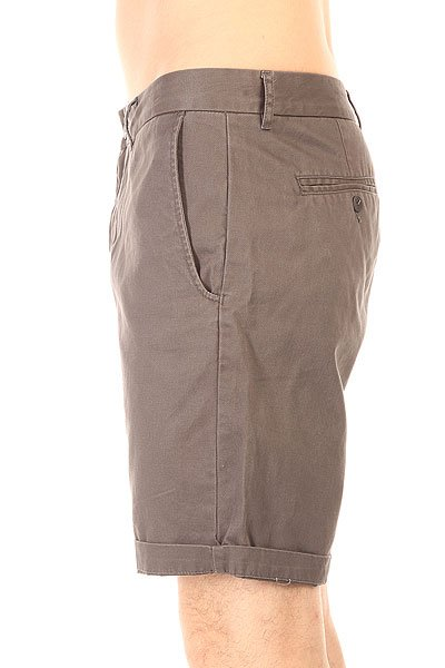 Шорты классические Globe Goodstock Chino Walkshort Grey