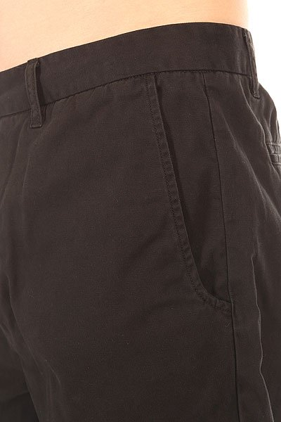 Шорты классические Globe Goodstock Chino Walkshort Black