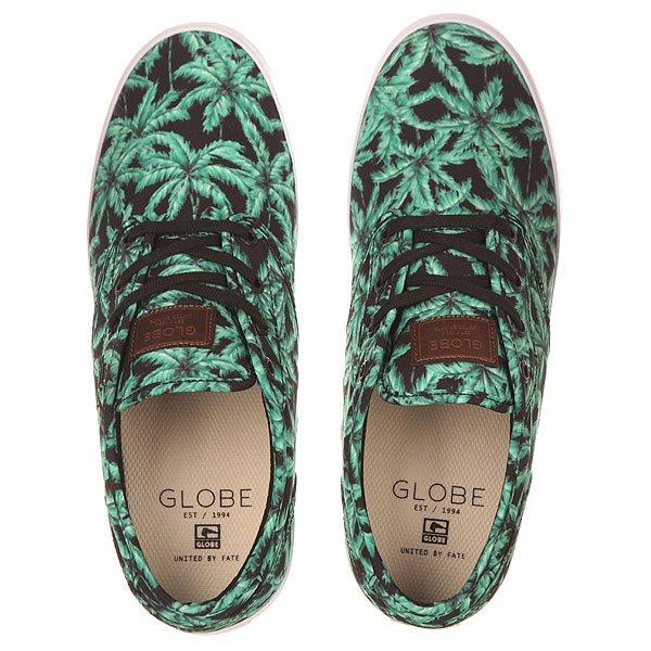 Кеды низкие Globe Motley Jungle/Black