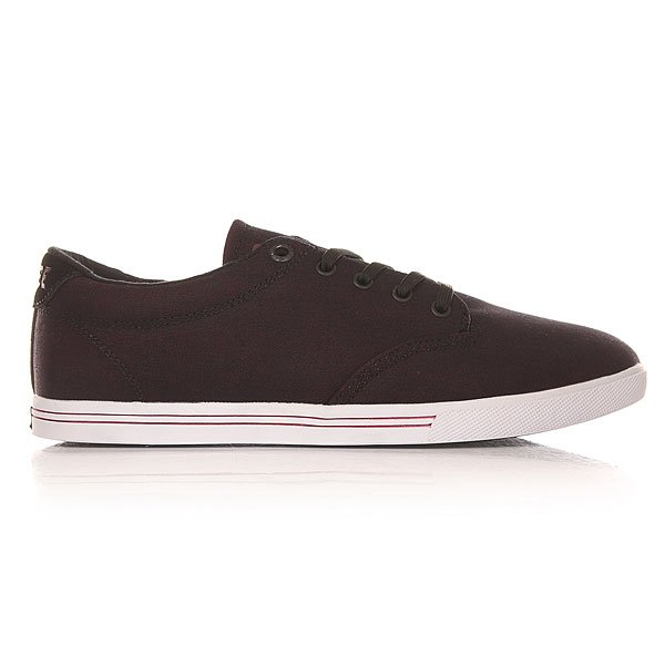 Кеды низкие Globe Lighthouse slim Dark Burgundy/White
