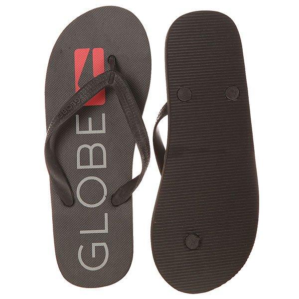 Вьетнамки Globe Fairfax Black/Grey/Red