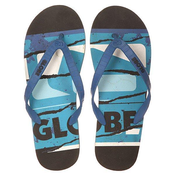 Вьетнамки Globe Rip Black/Blue