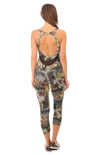 Комбинезон для фитнеса женский CajuBrasil Su Legging Multi