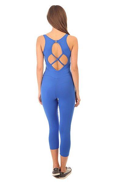 Комбинезон для фитнеса женский CajuBrasil Nz Overall Basic Blue