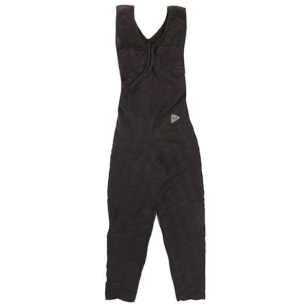 Купить Комбинезон для фитнеса женский CajuBrasil Upvibe Suellen Onda Black 1152150