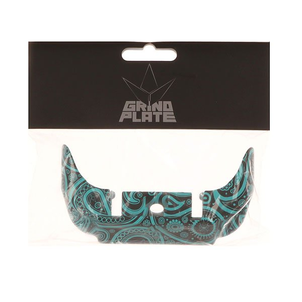 Тормоз для самоката Blunt Otr Bandana Front Plate Sm Black/Light blue