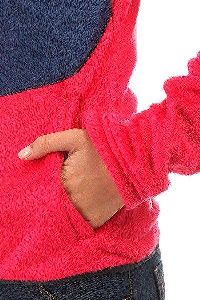Толстовка классическая женская Picture Organic Loop Pink Dark Blue