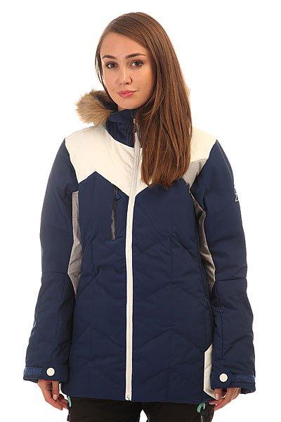 Куртка утепленная женская Picture Organic Fly Friends Dark Blue