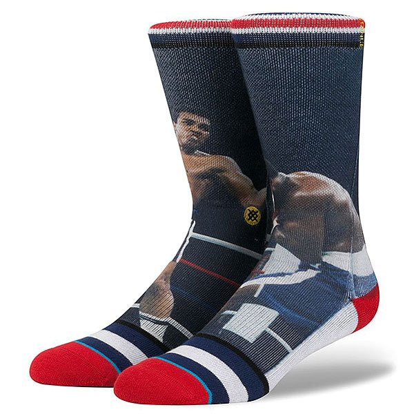 Носки средние Stance Anthem Legends Thrilla In Manilla AN Navy