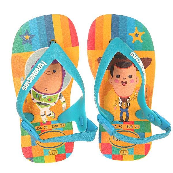 Сандалии детские Havaianas Pixar Yellow