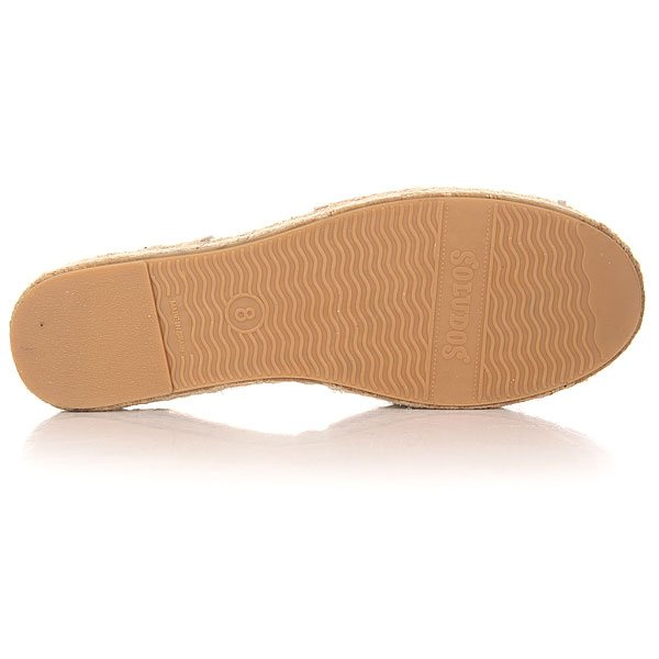 Сандалии женские Soludos Huarache Sandal Metallic Platinum