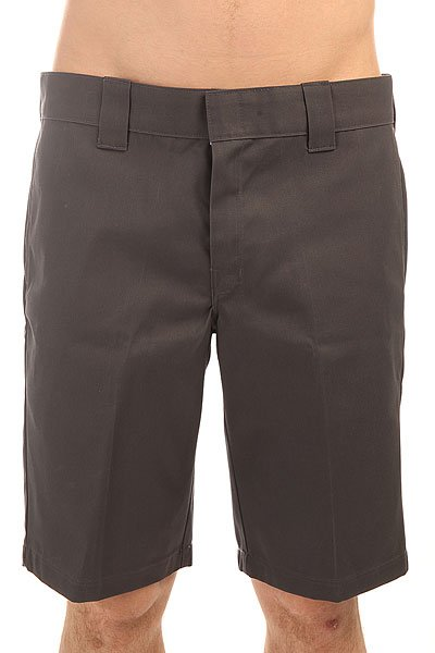 Шорты классические Dickies Slim Stgt Wkshort Charcoal Grey