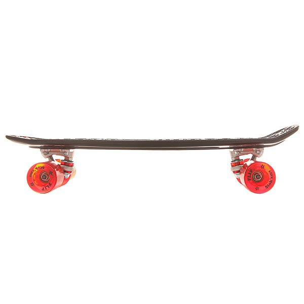 Скейт мини круизер Flip S6 Banana Board Black/Red Cruzer 6 x 23.25 (59 см)