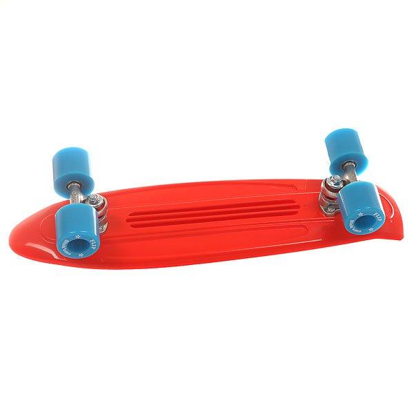Скейт мини круизер Flip S6 Banana Board Cruzer Red/Blue 6 x 23.25 (59 см)