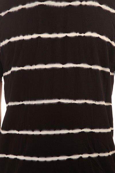 Футболка Altamont White Lines Tee Black