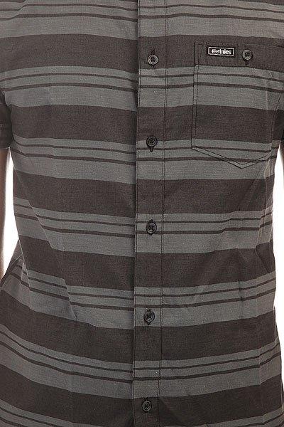 Рубашка Etnies Stesick S/S Woven Black