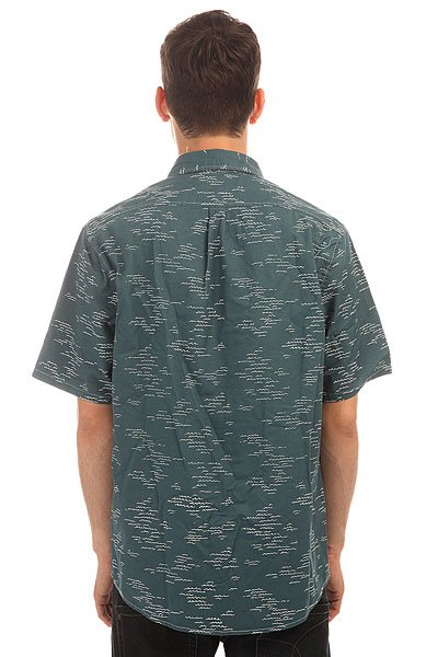 Рубашка Altamont Wavy Ss Woven Blue
