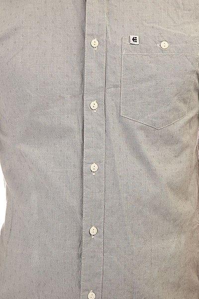 Рубашка Etnies Castaic S/S Woven Lt. Grey