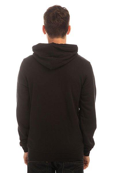Толстовка классическая Etnies E-base Zip Black
