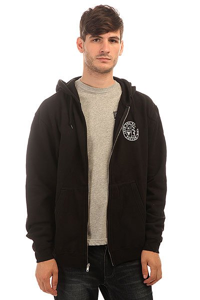 Толстовка классическая Fallen Faction Zip Hood Black Front & Back Print