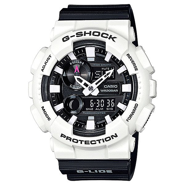 Электронные часы Casio G-Shock Gax-100b-7a White/Black