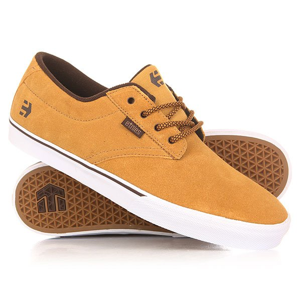 Кеды низкие Etnies Jameson Vulc Tan/Brown/White