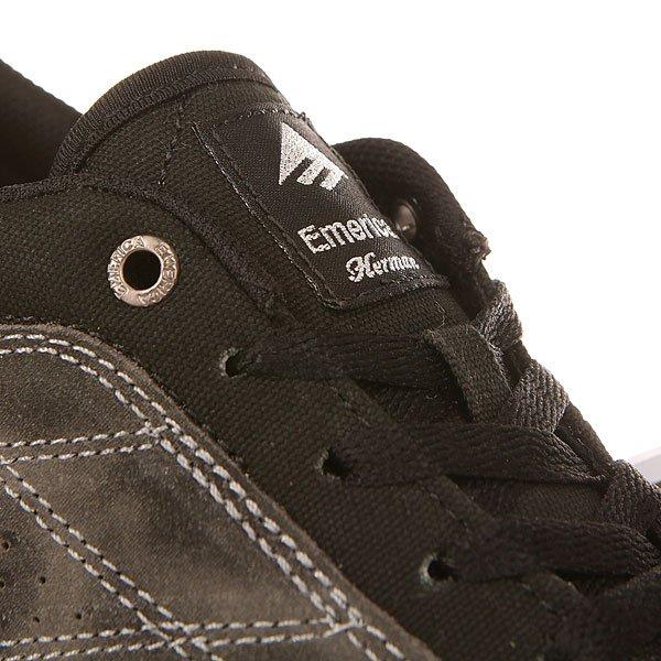 Кеды низкие Emerica The Herman G6 Vulc Black/Print