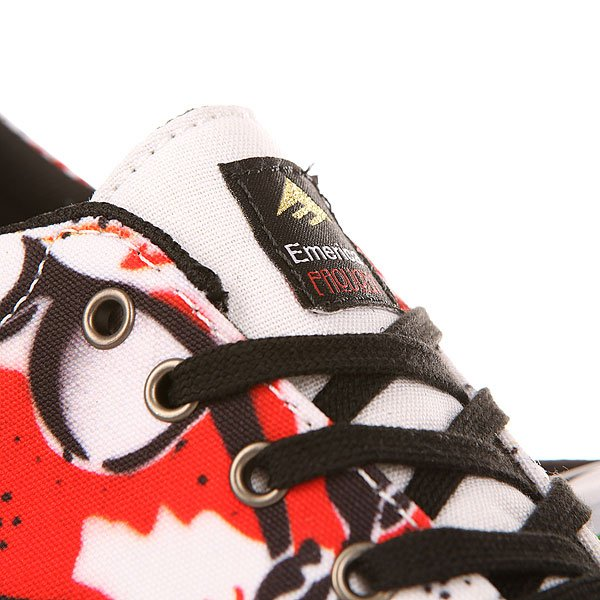Кеды низкие Emerica Provost Slim Vulc X Mouse Black/Print