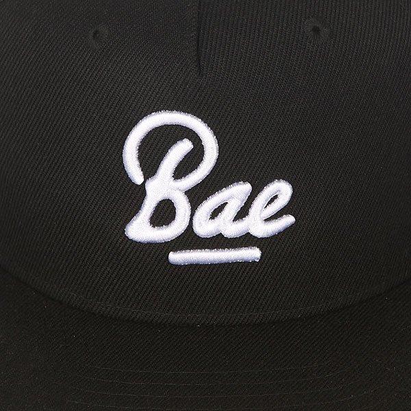 Бейсболка с прямым козырьком TrueSpin Bae Black