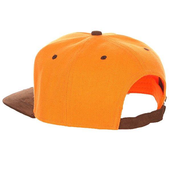 Бейсболка с прямым козырьком TrueSpin Reefer Orange