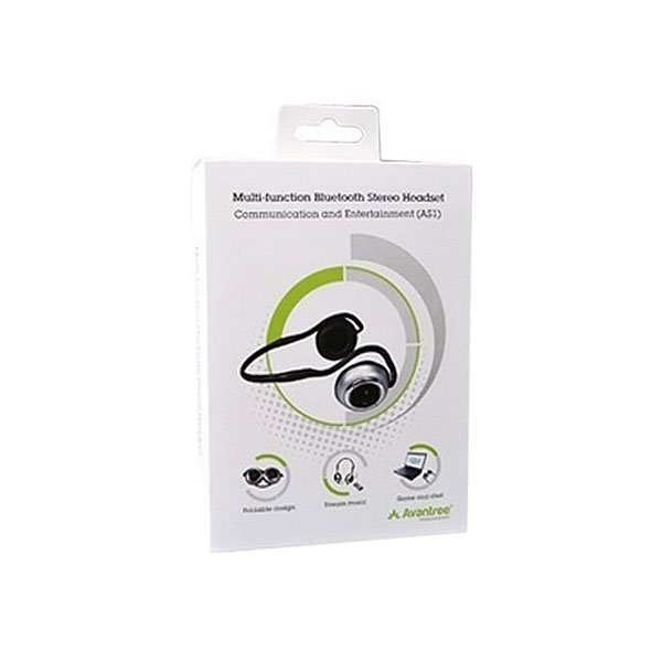 Полноразмерные наушники Avantree Bluetooth Avantalk As1 Black
