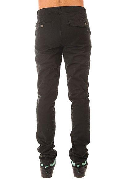 Штаны прямые Запорожец Classic Pants Black