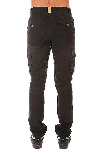 Штаны прямые Запорожец Cargo Pants Black