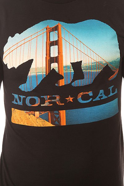 Футболка Nor Cal City Bear Black