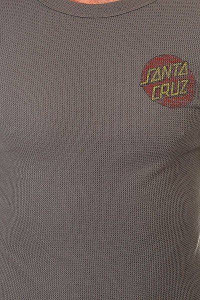 Лонгслив Santa Cruz Classic Dot Thermal Charcoal