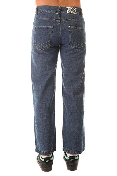 Джинсы широкие Santa Cruz Stonw. Loose Fit Corp Dark Indigo