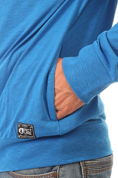 Толстовка классическая Picture Organic Basement Ml Zip Blue