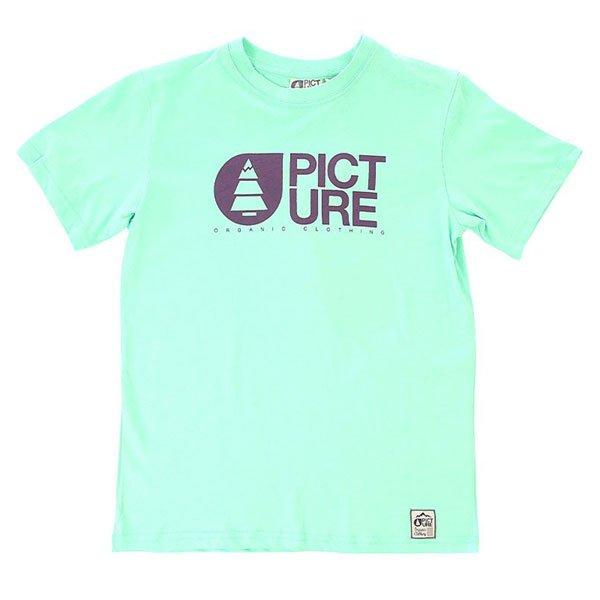 Футболка детская Picture Organic Basement Pastel Green